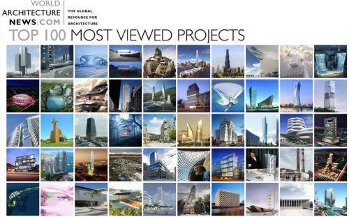 Top 100 de proyectos arquitectónicos